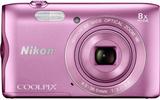 Digitalkamera Nikon A-300 20.1 MPix 8 x Rosa