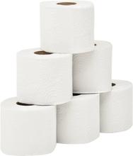 vidaXL Präglat toalettpapper 2-lagers 128 rullar 250 ark