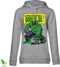 I Am The Hulk Girls Hoodie, Girls Organic Hoodie