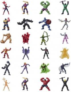 4-Pack Marvel 500 Avengers Blind Bag Series 13 Micro Figurer