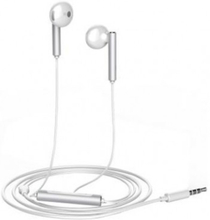Original Huawei AM115 in-ear Earphone Headphone med mic - Vit