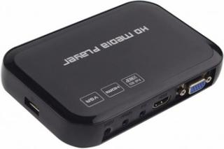 H6W Full HD 1080P Media Player with HDMI VGA