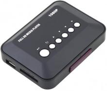 Media Player Mediaspelare 1080P HD USB HDMI SD/MMC