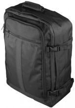 DELTACO Kabin ryggsäck, 3-fack, flight approved, 44 liter