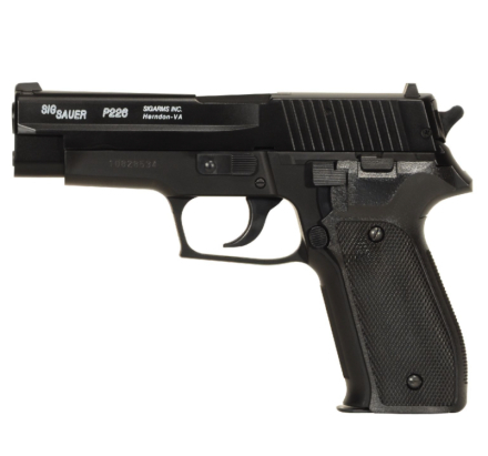 Sig Sauer SP2022/P226 HPA Fjærdrevet Softgun - SPESIALPAKKE