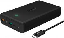 Aukey 30000mAh Powerbank QC 3.0 Kraftfull Mobil Plattor