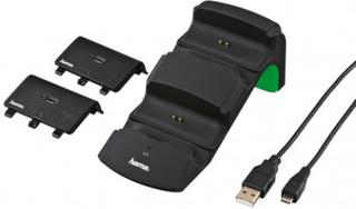HAMA Laddstation Extra Xbox One med Batterier - Hama