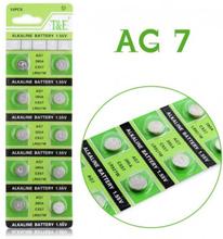 AlkaliskKnappcellbatteri SR57 / V395 / AG7 Storpack