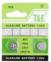 AlkaliskKnappcellbatteri SR57 / V395 / AG7