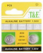 AlkaliskKnappcellbatteri SR55 / V391 / AG8