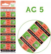 AlkaliskKnappcellbatteri SR48 / V393 / AG5 Storpack