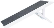 TRIXIE højdejusterbar kæledyrsrampe 36 x 90 cm MDF hvid 39375