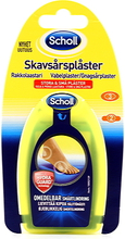 Scholl Skavsårsplåster Mix Clear Gel 3 Large 2 Small