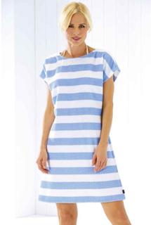 Strandklänning 9305-16 blå (XS - Extra small)