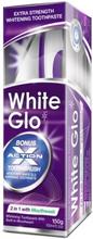 White Glo 2in1 Whitening Toothpaste & Toothbrush 100 ml + 1 stk