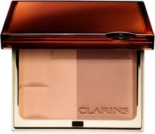Osta Clarins Bronzing Duo Mineral Powder Compact, 01 Light SPF15 Clarins Aurinkopuuterit edullisesti