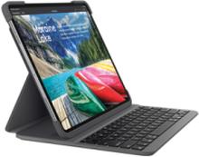 SLIM FOLIO PRO iPad 11inch - ND - Tastatur & Foliosett - Nordisk - Svart