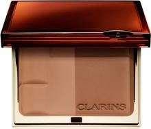 Kjøp Clarins Bronzing Duo Mineral Powder Compact, 03 Dark SPF15 Clarins Bronzer Fri frakt