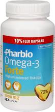Pharbio Kosttillskott Omega-3 Forte 132 Kapslar - 53% rabatt