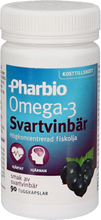Kosttillskott Omega-3 Svartvinbär 90 Kapslar - 50% rabatt