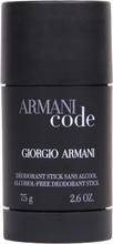 Köp Giorgio Armani Armani Code Homme Deodorant Stick, 75ml Giorgio Armani Deodorant fraktfritt