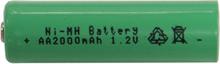 Reservbatteri AA 1,2V till solcellslampor