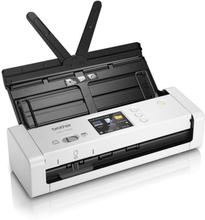 Duplex farve Bærbar Wi-Fi scanner Brother ADS-1700 7,5 ppm 1200 dpi Hvid