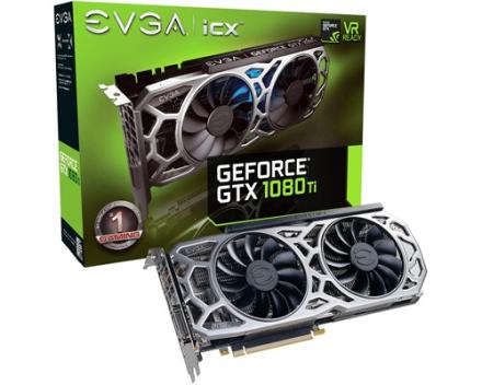 EVGA Geforce GTX 1080 Ti SC2 Gaming 11GB (11G-P4-6593-KR)