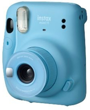 Fujifilm Instax Mini 11 Blue Instant Camera