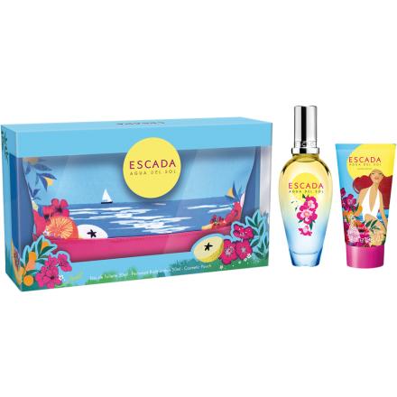 Agua Del Sol 50ml Escada Naisten lahjapakkaukset