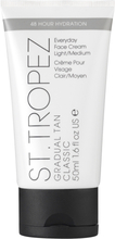 St. Tropez Gradual Tan Every Day Moisturizer for Face, 50 ml St. Tropez Brun utan sol