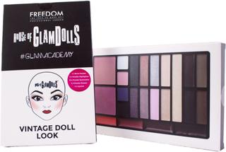 Kjøp House Of GlamDolls, Vintage Doll Look Freedom Makeup London Sminkepaletter Fri frakt