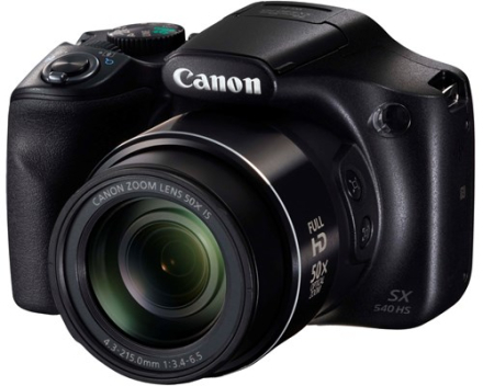 Canon PowerShot SX540 HS Sort (1067C002)