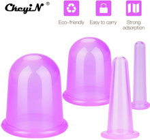 Therapy Silicone Cupping Cups For Body Face Neck Back Eyes Massage Helper Vacuum Anti Cellulite Moisture Absorber Health Care