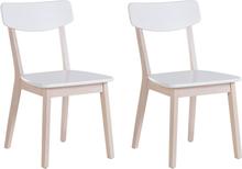 Tuoli setti valkoinen 2/pakk SANTOS