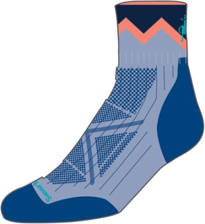 Smartwool PhD Pro Approach Light Elite Naiset sukat , sininen M | 38-41 2019 Villasukat