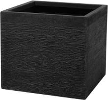 Kukkaruukku musta 50x50x46 cm PAROS