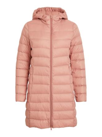 VILA Long, Light, Down Jacket Women Pink