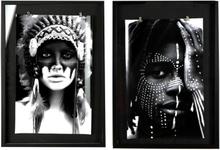 Tavlor Indianer - 50x70 cm