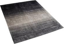 Matto 160x230 cm harmaa ja musta ERCIS
