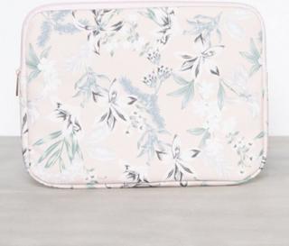 New Look Floral Laptop 13 Inch Case Datorväskor Light Pink