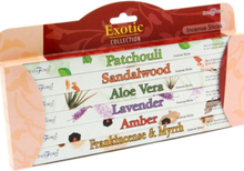Exotic - Presentset med 6 Olika Paket med Stamford Rökelsespinnar