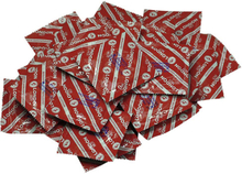 Londom Rød 100 stk - Kondom med jordbærduft