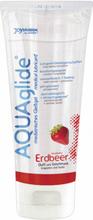 AQUAglide Glidecreme med Jordbær Duft - 100 ml