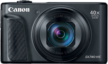 Canon Powershot SX740 HS Digitalkameras - Schwarz (Internationale Ver.)