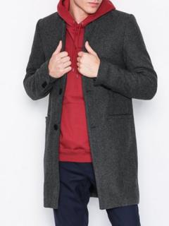 Only & Sons onsMAX Wool Trench Coat Exp Jackor Mörk Grå
