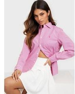 Polo Ralph Lauren Est Georgia-Long Sleeve-Shirt White