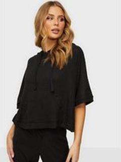 Calvin Klein Underwear Short Sleeve Hoodie Black