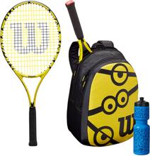 Wilson Minions 25 KIT Tennisschläger Griffstärke 0