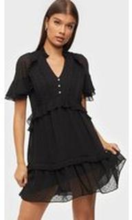 River Island Dobby Mini Dress